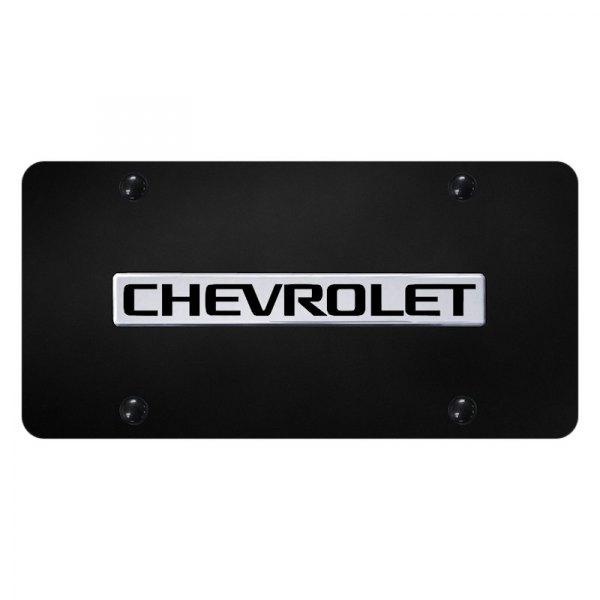 Chevrolet HHR Logo License Plate Standard Frame Mirror Chrome Stainless Steel
