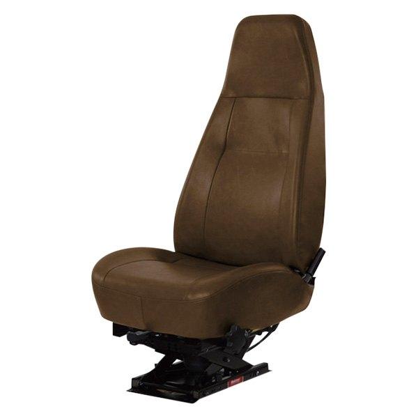 Bostrom Seating® 2350008-545 - Lopro 905Sc Manual Lumbar Hi-Back Brown  Vinyl Truck Seat