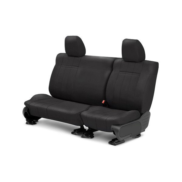 CalTrend® - SportsTex 2nd Row Charcoal Custom Seat Covers