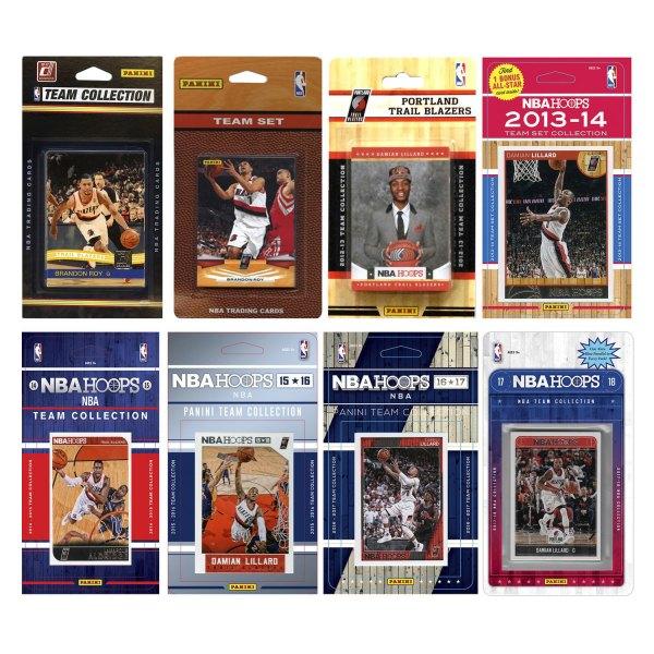 Portland Trail Blazers Roster 2014: C&I Collectibles® TRAILB817TS