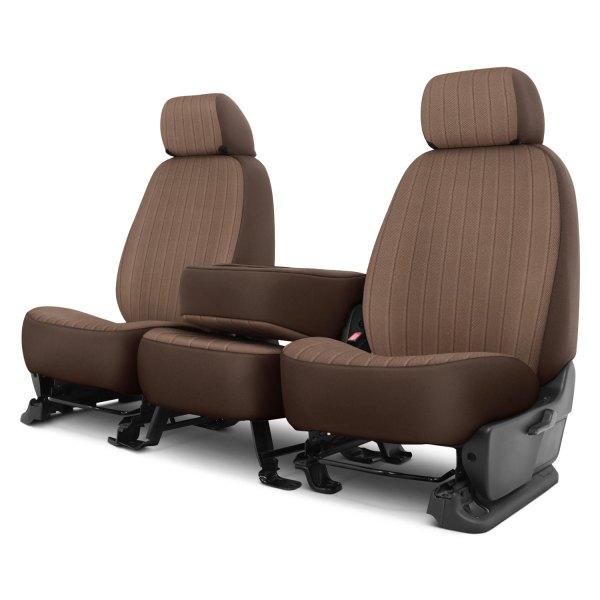 Dash Designs® - Madera™ 1st Row Toast Custom Seat Covers
