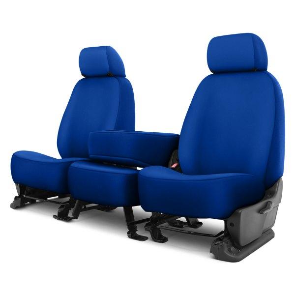 Dash Designs® - Neosupreme™ 1st Row Royal Blue Custom Seat Covers