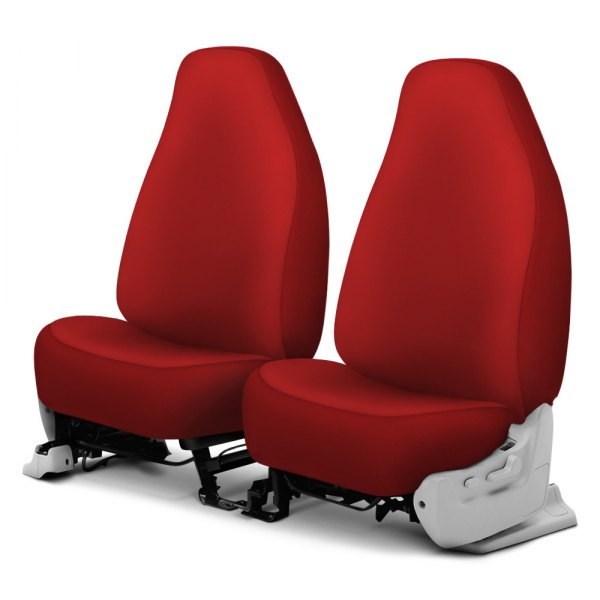 Dash Designs® - Neosupreme™ 1st Row Red Custom Seat Covers