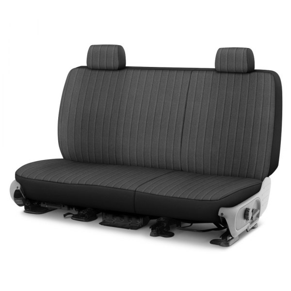 Dash Designs® - Madera™ 2nd Row Charcoal Custom Seat Covers