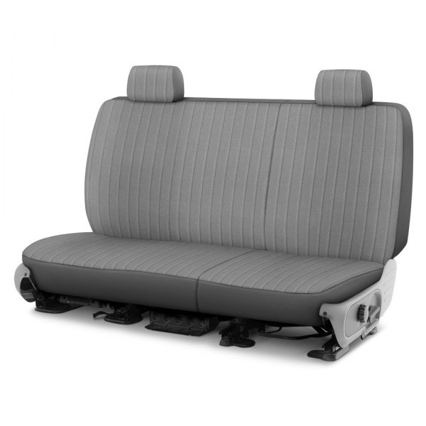 Dash Designs® - Madera™ 2nd Row Silver Custom Seat Covers