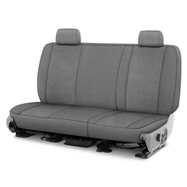 Dash Designs® - Cool Mesh™ 1st Row Silver Custom Seat Covers