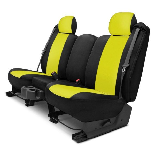 Groovy Dash Designs K369 04 7 Zyb Neosupreme 2Nd Row Yellow With Black Custom Seat Covers Lamtechconsult Wood Chair Design Ideas Lamtechconsultcom