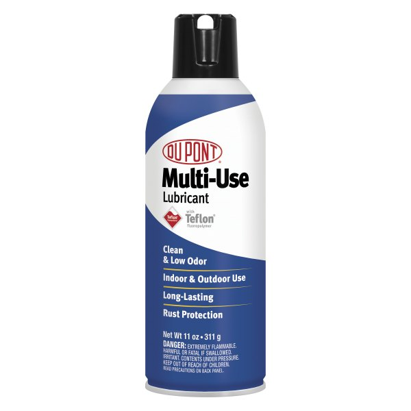 Dupont d00110101 11 oz multi use lubricant with teflon fluoropolymer pack for Dupont exterior protection reviews