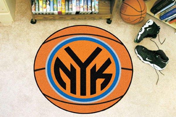 Nba Basketball New York Knicks: New York Knicks Logo NBA Basketball Mat
