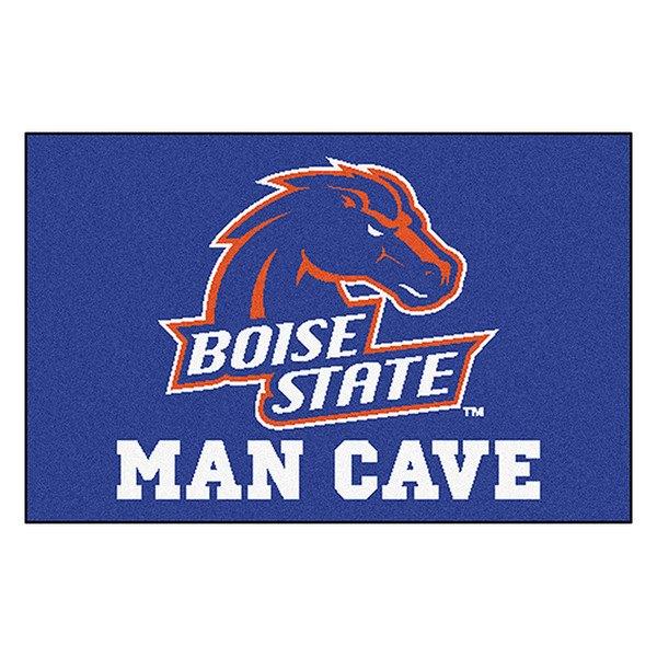 Fanmats 174 14532 Boise State University Logo On Man Cave