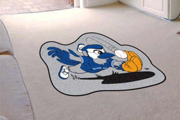 Fanmats 174 18090 Toronto Blue Jays Logo 3 X4 Mlb Mascot