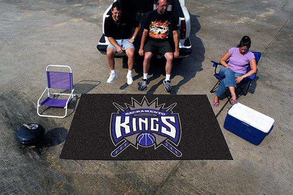 Fanmats 174 9396 Sacramento Kings Logo On Ulti Mat