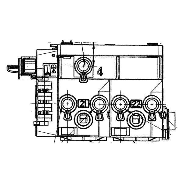 Haldex® AQ968306 - Trailer ABS Roll Stability Kit on