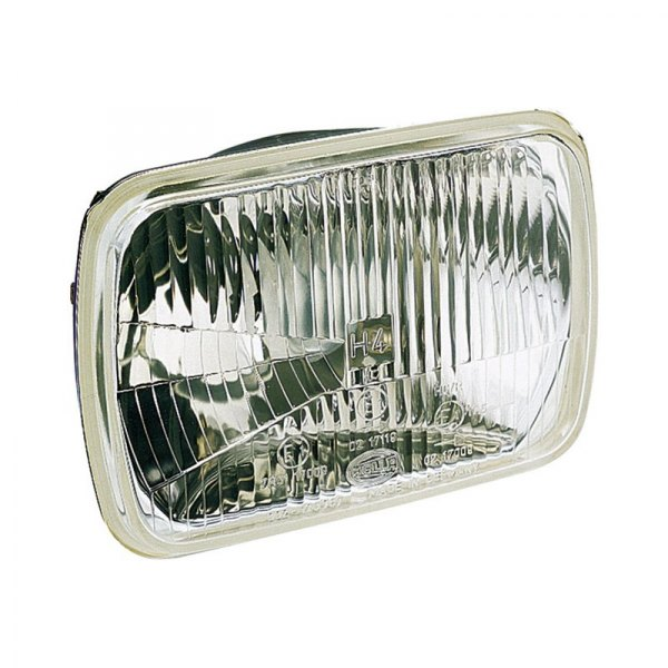 Hella 7x6 Rectangular Chrome Factory Style Composite Headlight