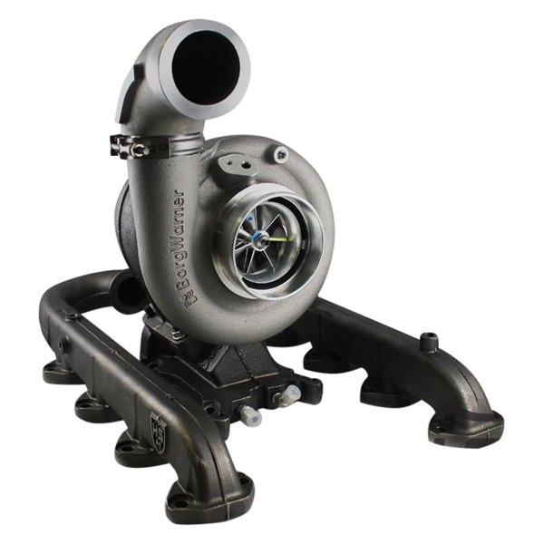 H/&S Motorsports S300 SX-E 90 Degree BorgWarner Turbo Compressor Outlet Elbow