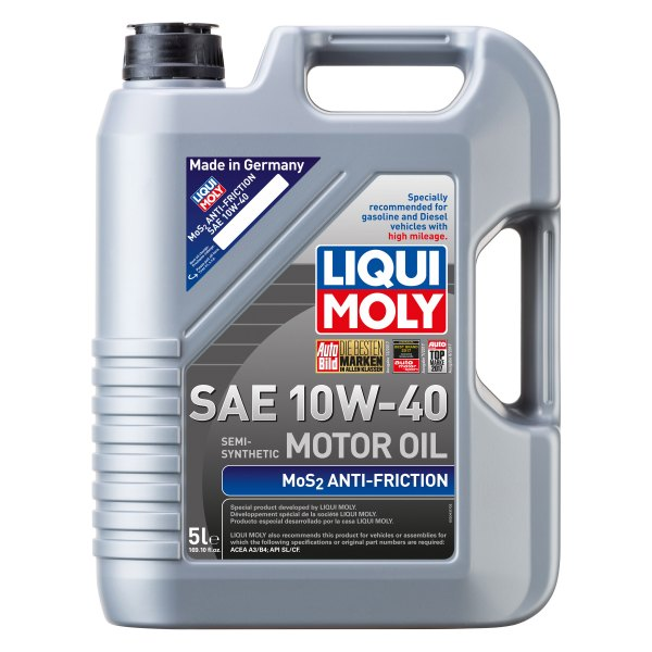 liqui moly 2043 mos2 anti friction sae 10w 40 synthetic. Black Bedroom Furniture Sets. Home Design Ideas