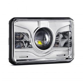 H4656 H4666 H4651 H4656 White Halo Black Projector Headlights
