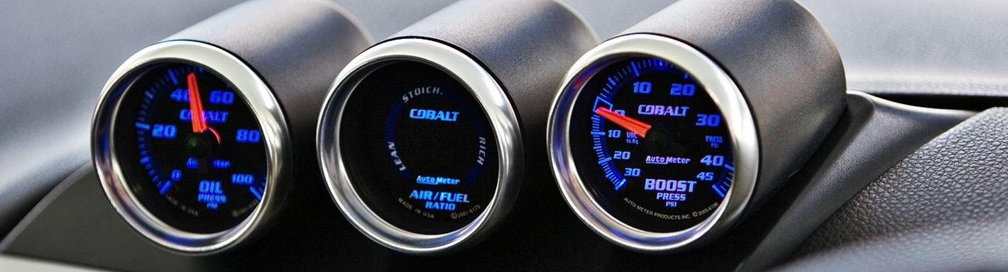 "Auto Meter 2-1//16/"" Carbon Fiber Gauge Mounting Pod Cup 2121"