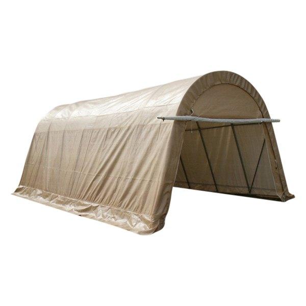 Rhino Shelter® GA142410RTN - Round Style 14' W x 24' L x ...